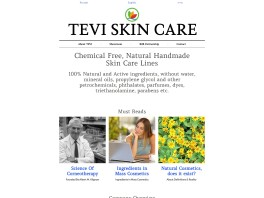 TEVI'S - Natural Handmade Chemical Free Skin Care